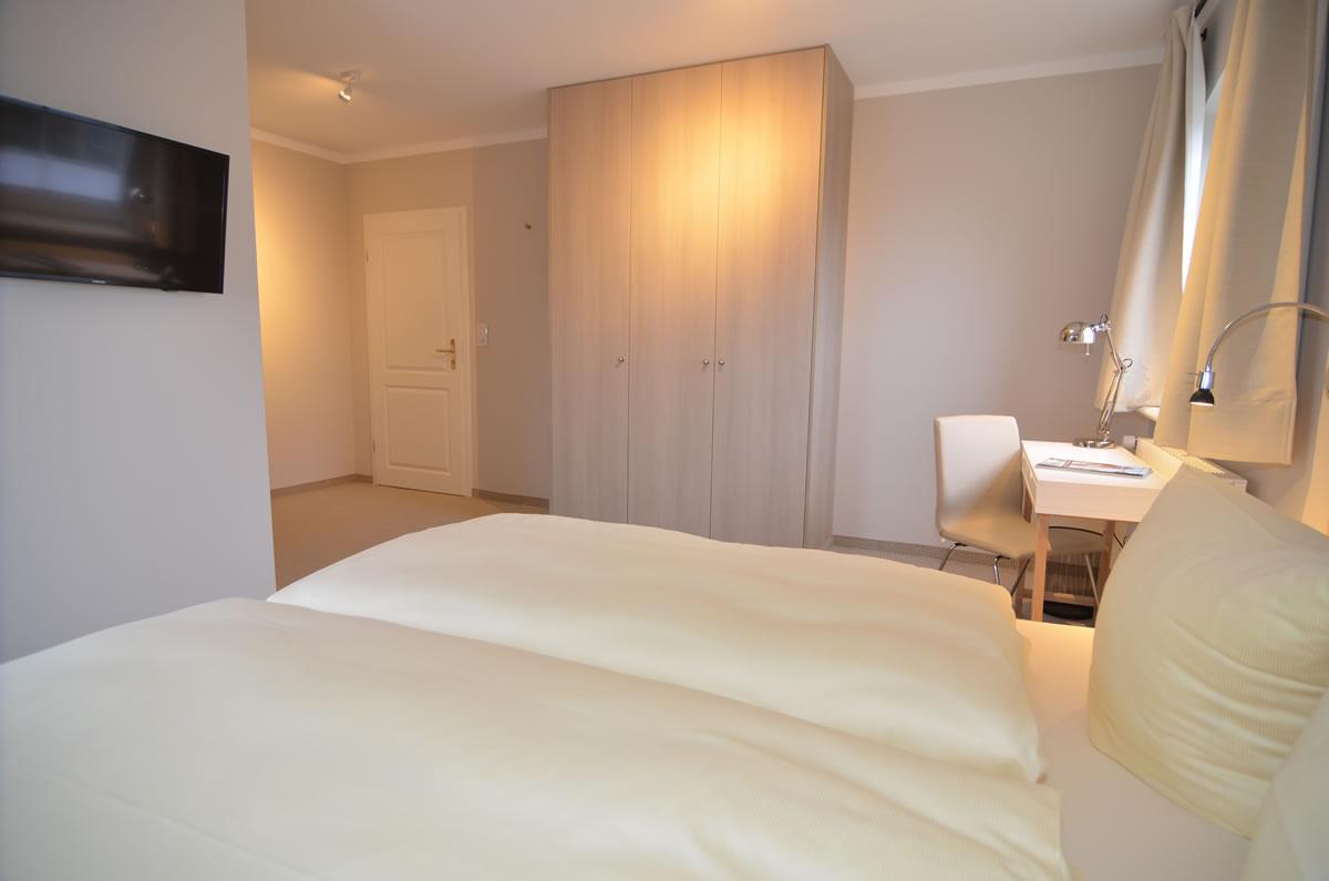 Doppelzimmer im Fastenhaus auf Sylt