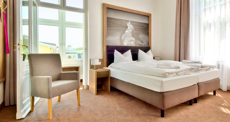 Villa Auszeit Zimmer